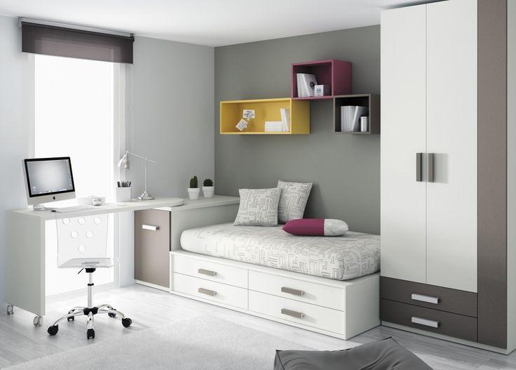 12 best images about dormitorios juveniles formas 13 on - Dormitorios juveniles formas ...