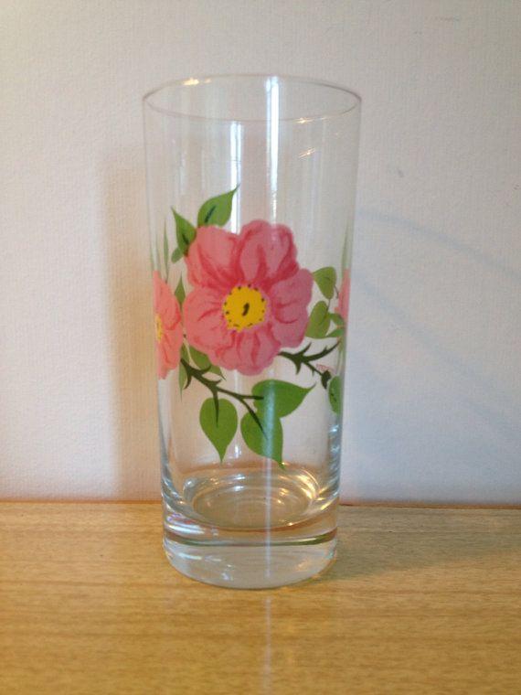 Vintage Franciscan Desert Rose Drinking Glass by NorthernCousin & 242 best Desert Rose - U.S. images on Pinterest | Desert rose ...
