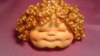 Мастер класс текстильная кукла. Елена Прилуцкая. Уроки вязания на видео