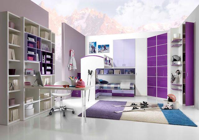 décoration chambre ado fille moderne