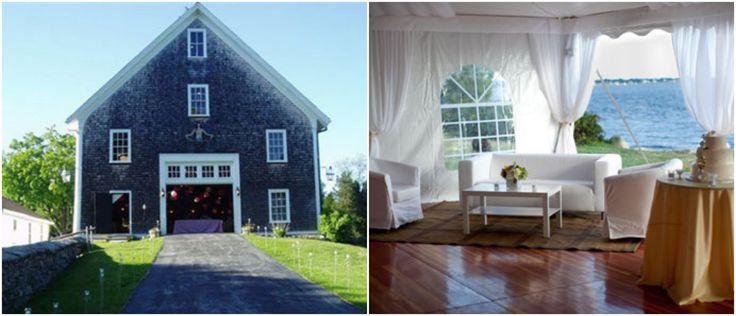 Rhode Island Barn Wedding Location