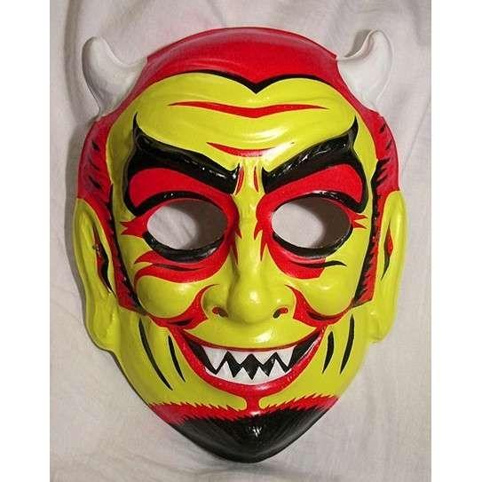 Ghost Hunting Theories: Vintage Halloween Masks