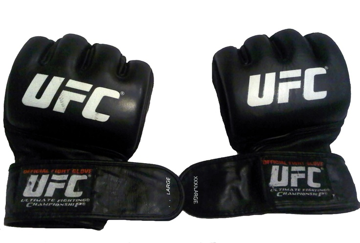 Shane Carwin Signed Fight-Worn UFC 89 Gloves