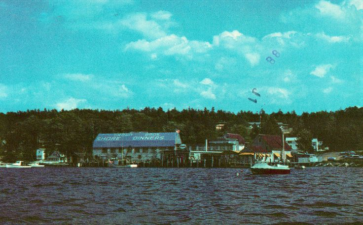 """""""Brown's Lobster Pound"""" - Boothbay Harbor,Maine"""