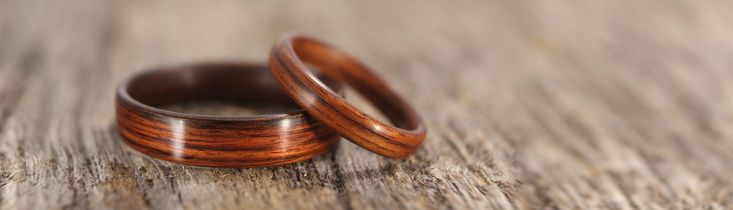 """The most durable bentwood ring, with the best customer service available. Stout Woodworks began making strong, durable, steam-bent wooden rings in 2008. We named them """"bentwood rings"""", and that's how it all got started. We're glad you stopped by! If you would like to discuss options for a wooden wedding ring, wooden engagement ring, or …"""