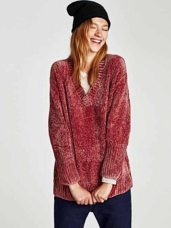 A quién no le gustan las prendas suaves a la par que abrigosas, ponte a la moda y confecciona tu propio jersey de chenille.