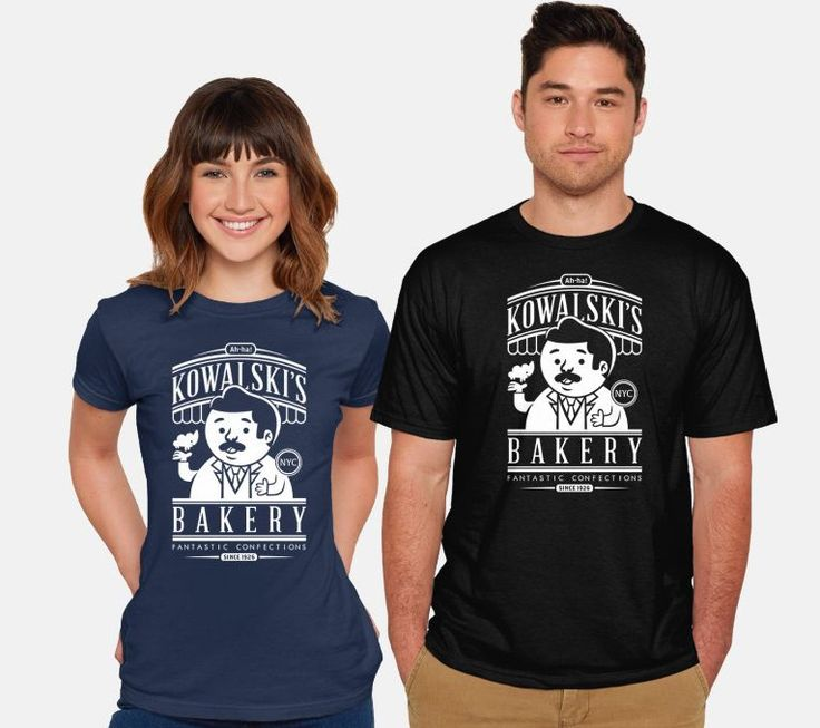 Kowalski's Bakery T-Shirt for women and men  #FantasticBeasts #HP #HarryPotter