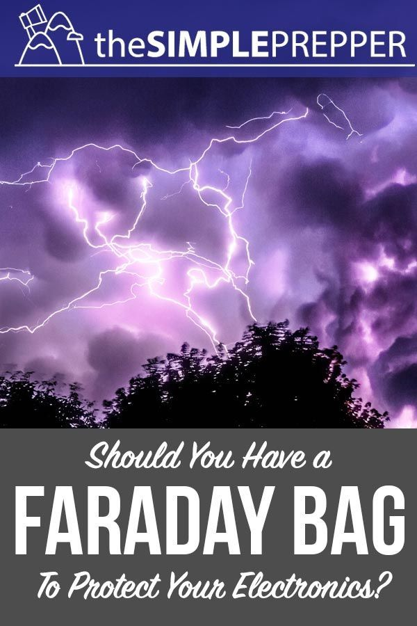 Should Preppers Have a Faraday Bag