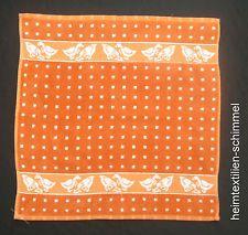Küchenhandtuch Geschirrtuch Küchentuch Handtuch GÄNSE orange Küche 50x50cm