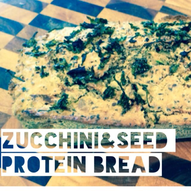 Zucchini & Seed Protein Bread (Gluten Free, Dairy Free, High Protein)  1 cup GF Flour Mix 1 Cup LifeFoods Sacha Inchi Protein Powder (or you can just use an extra cup of GF Flour) 1 Cup Quinoa Flour 400ml Coconut Milk 1 Grated Zucchini 2 Eggs ¼ tspn Himalayan Salt 3 tspn Baking Powder ¼ Cup Linseeds ¼ Cup Sunflower Seeds ¼ Cup LifeFoods Chia Seeds ¼ Cup Pumpkin Seeds