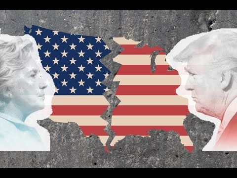 Full Documentary 2017 - Trump v Clinton Who Divided America - Political .