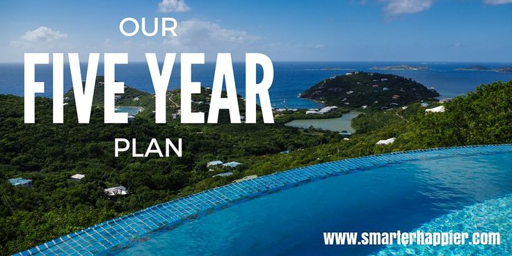 We have a pretty major five year plan that we are steadily working towards achieving. The end goal will be awesome but it's going to be hard to get there.
