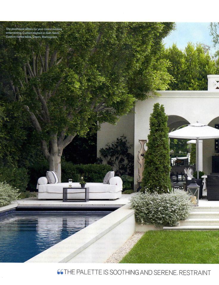 LA Villa by Nord Eriksson landscape architect with EPT DESIGN, architect Kevin Clark, designer Danny Cuevas.