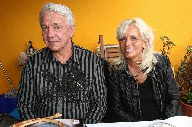 Jiří Krampol s manželkou Hanou Krampolovou.
