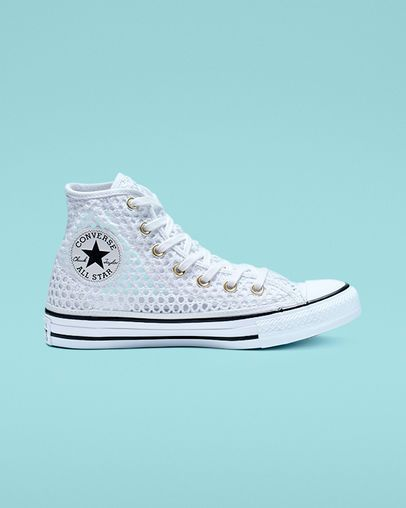 4dec7ba78d9 Chuck Taylor All Star Crochet High Top in 2019 | Converse | Chuck ...