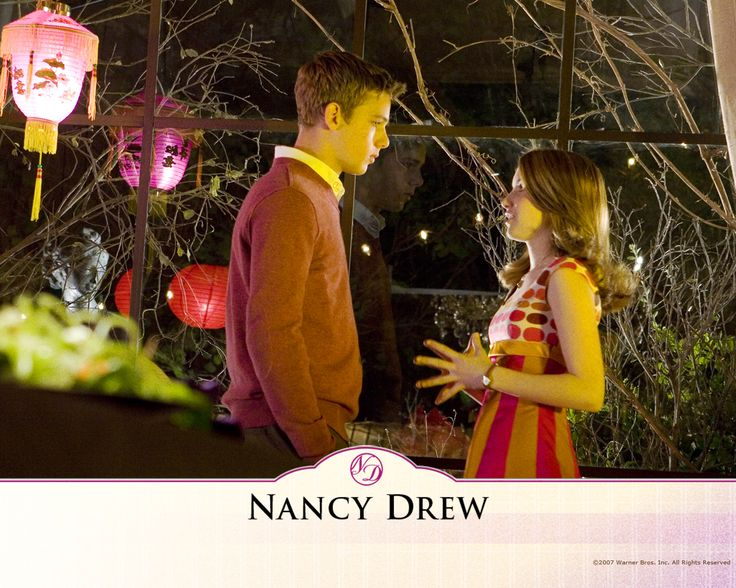who plays ned in nancy drew