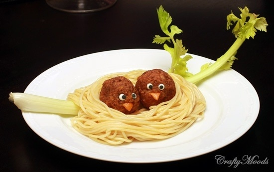 Kids pasta REALLY CUTE!