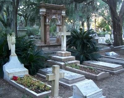 Savannah's most famous and hauntingly beautiful,  Bonaventure Cemetery #ad