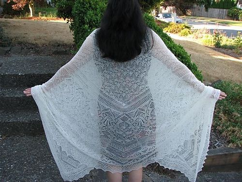 princess shawl pattern - very complex shetland lace and hopefully I get this started this year!