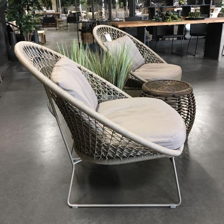 Natalie Rope Relaxing Chairs Outdoor Furniture Ideas Muebles Para Patio Muebles Para Terrazas Muebles De Mimbre