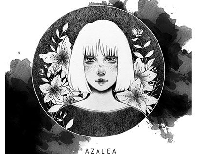 "Check out new work on my @Behance portfolio: ""AZALEA"" http://be.net/gallery/49981039/AZALEA"