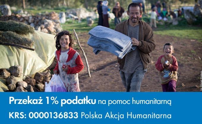 Polska Akcja Humanitarna :: Przekaż swój 1% na naszą działalność
