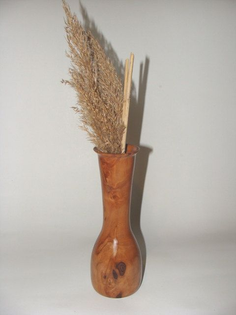 THE PEAR DREAM Wooden Vase Wooden Pear Tree Vase by NOviWood, $17.00