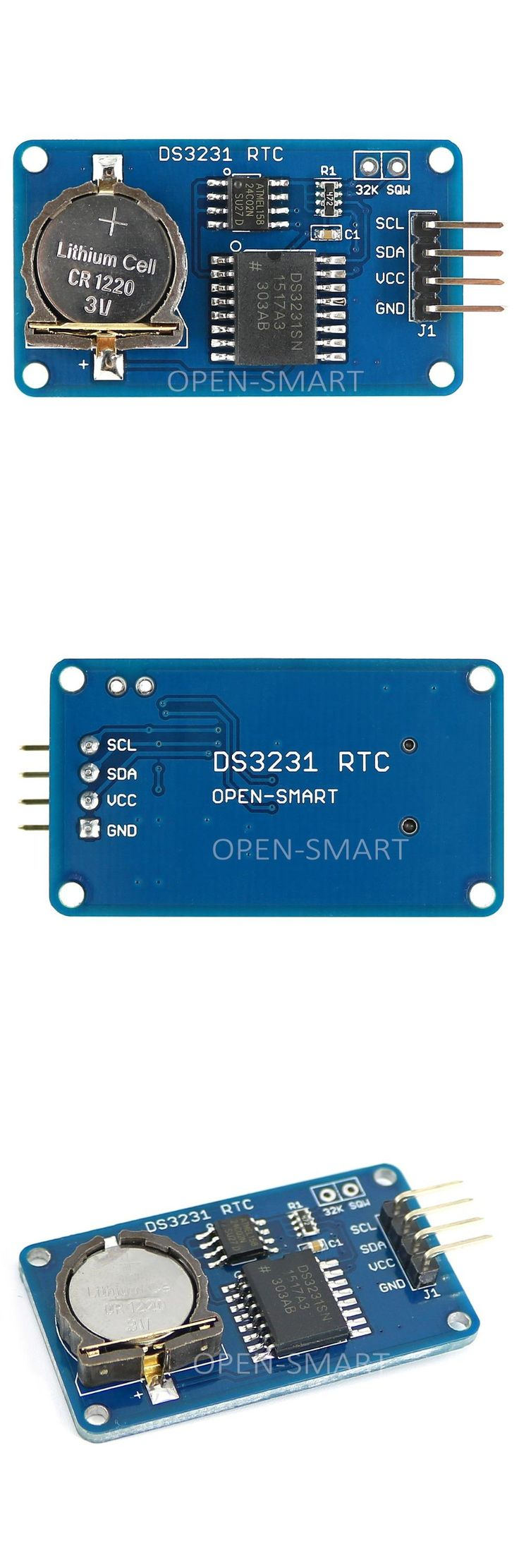 [Visit to Buy] DS3231 RTC Module with AT24C02 EEPROM High Accuracy and I2C Interface Real Time Clock module for Arduino #Advertisement