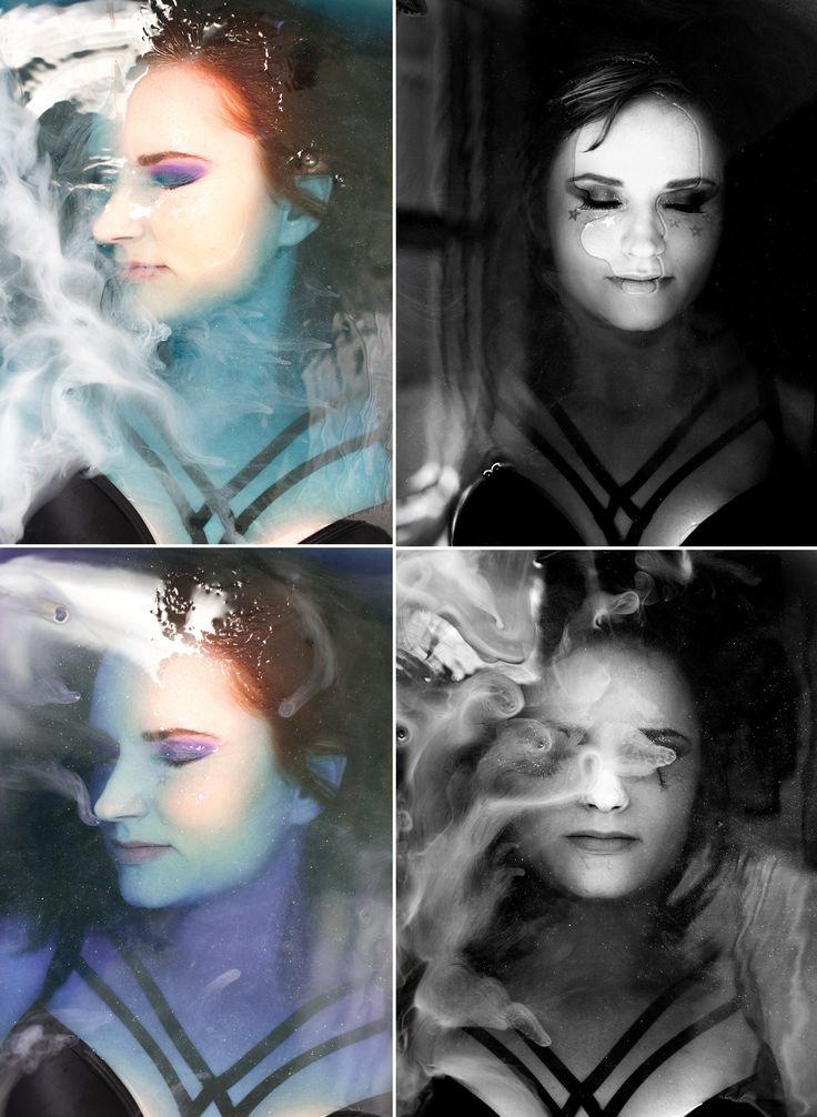 Universe inspired 30th birthday styled shoot | water portraits | Runaway Romance & Kiss Kiss photography