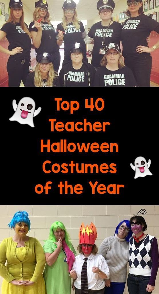 The Top 40 Teacher Halloween Costumes of the Year