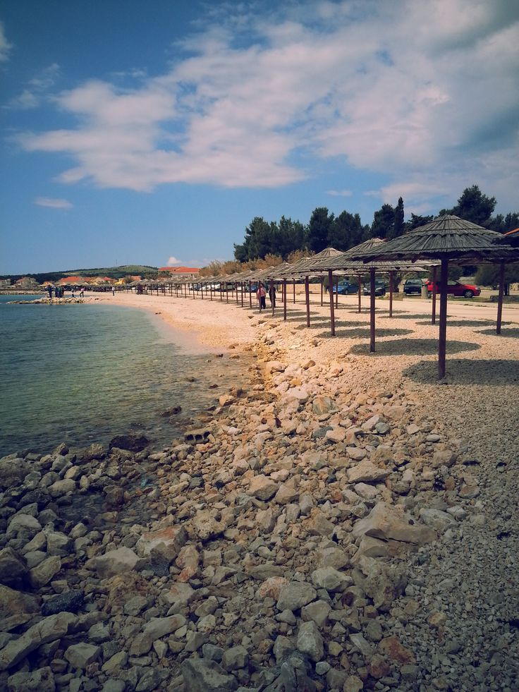 Croatia, Vir, beautiful beach