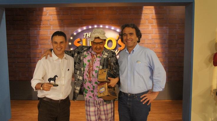 Anibal Gaviria y Sergio Fajardo en The Suso's Show