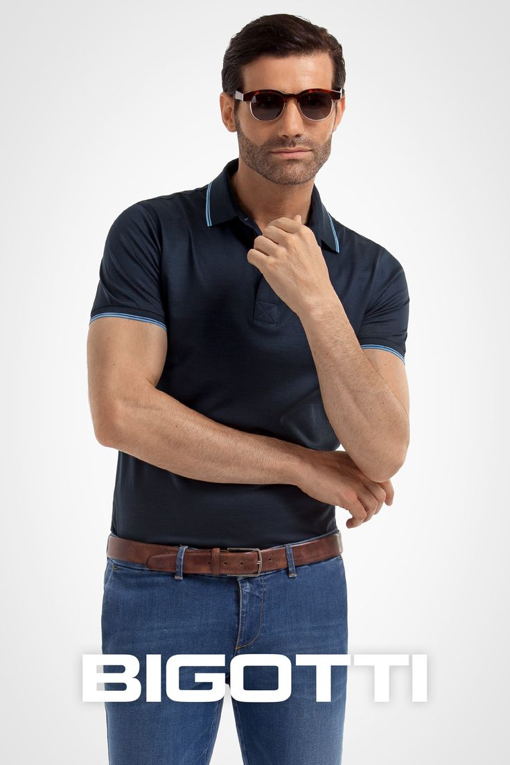 The #polo #tshirt – for a #smartcasual #masculine #look 50% OFF on https://www.bigotti.ro/tricouri-barbati & in #Bigotti #men #clothing #stores