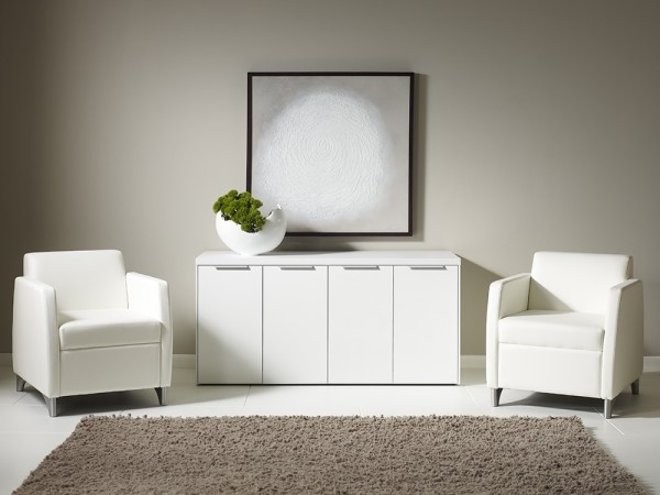 RIFT Collection by Darran -white credenza