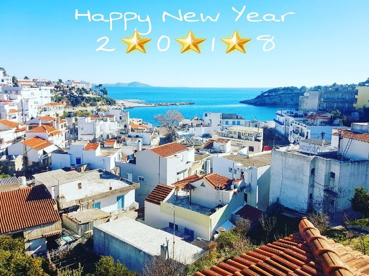 It was an incredible 2017...😍🔝 I would like to thank each one of our guests who honored us with their choice...👏👏 2018 is here... Can't wait for the new summer season...new guests..new experiences...💪👊 May every day of the new year be sunny, bright and calm...like today ☉☀ Happy New year to everyone!!🎊🎉 Buon anno a tutti!!✨🎇 Bonne année à tous!!🎆🎈 5 months until summer 😁😁😁 #angelos_apartments #alonissos #sporades #greece #sea #view #happynewyear #summeriscoming