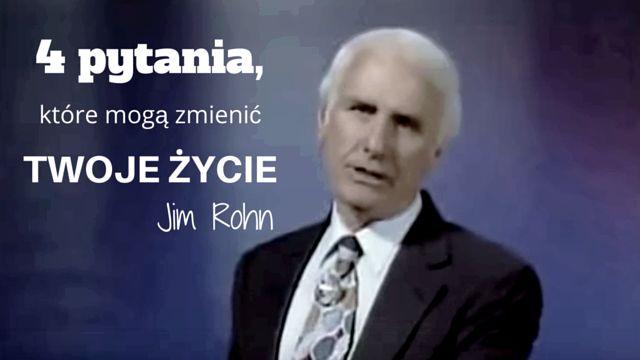 Nie ma głupich pytań ale są takie, które mogę zmienić życie, jak te, które Jim Rohn zadał w tym video: http://buildingabrandonline.com/MichalKidzinski/4-pytania-ktore-moga-zmienic-twoje-zycie-jim-rohn/