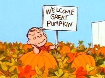 """Linus in """"It's the Great Pumpkin Charlie Brown"""""""