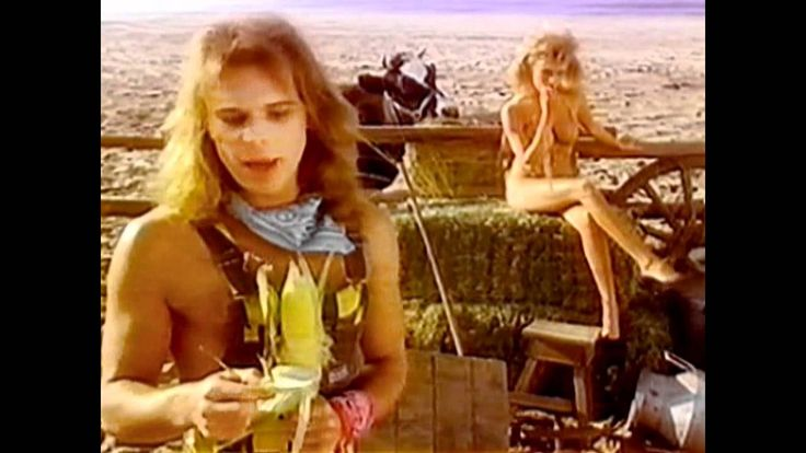 California Girls [HD] - David Lee Roth Memories of the 80s bizarre and beautiful and plain crazy ol' Dave.