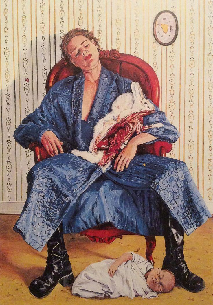 """Linn Fernström: """"Bortbytingen"""" 2000"""
