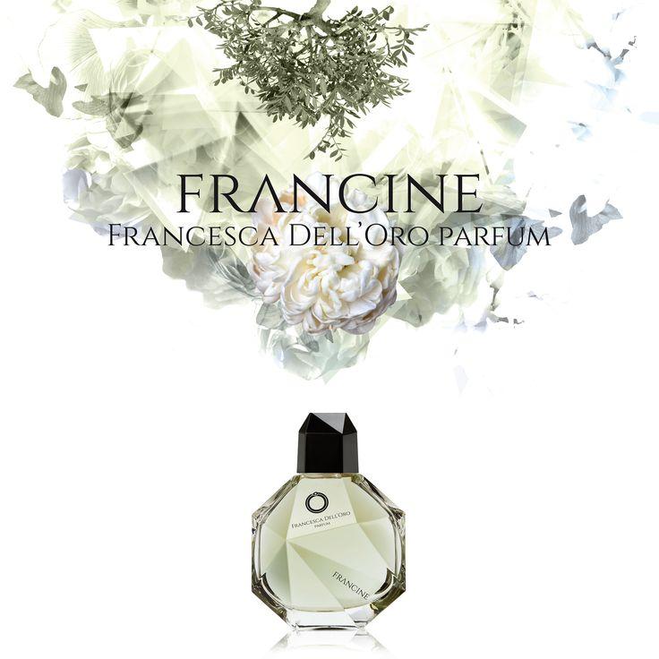 Cartello vetrina Francine - FD'O Parfum