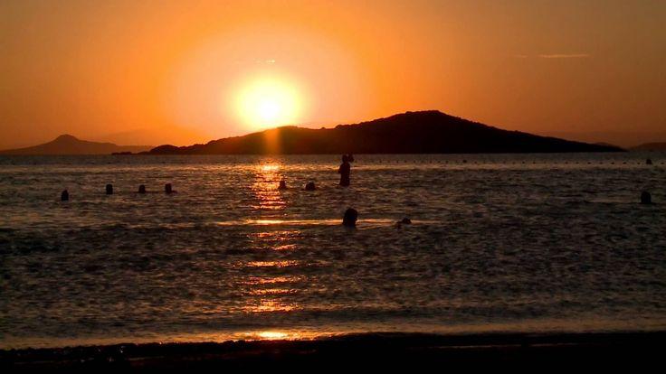Atardecer en el Mar Menor - Cartagena - España