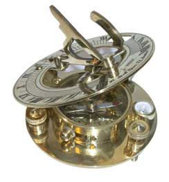 BRASS SUNDIAL, $21.95 Love this place--they have some of the coolest toys!