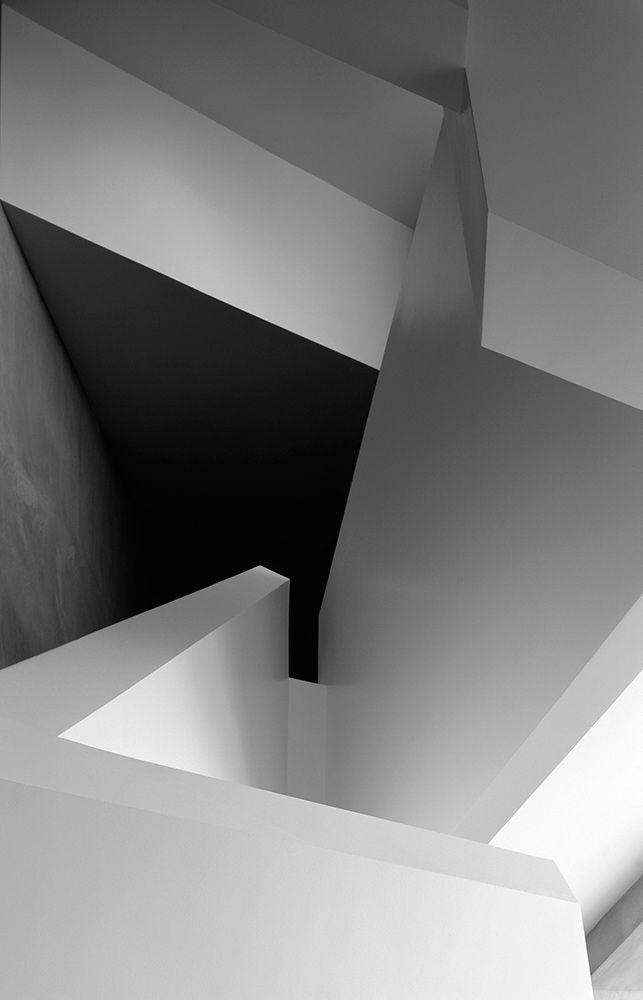 White minimalism - futuristic