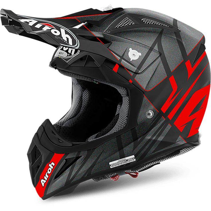 Airoh 2017 Aviator 2.2 Styling Red/Matte Black Helmet