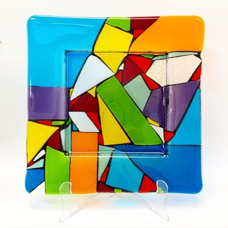 Beginners Level 1 - Lifes Colours Workshop - make a glass plate
