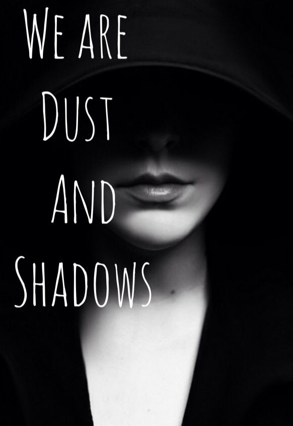 We are dust and shadows- shadow hunter motto shadow hunter quotes mortal instruments