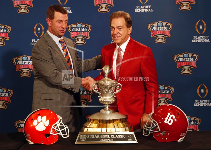 NEW ORLEANS/December 31, 2017  (AP)(STL.News) — The three-peat will be complete. Then again, there might be a few more chapters in college football's most intriguing new rivalry. For the third year in a row , Clemson will meet Alabama in the College Football Playoff, only this time it will ... Read More Details: https://www.stl.news/alabama-clemson-becomes-college-footballs-best-new-rivalry/59123/