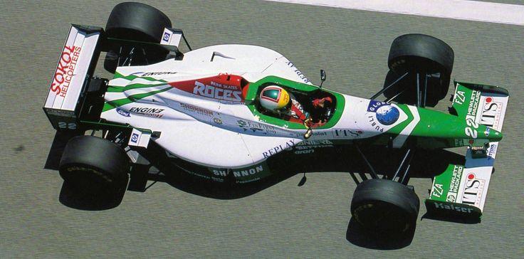 Luca Badoer - Forti FG03 - 1996 - Spanish GP (Catalunya)