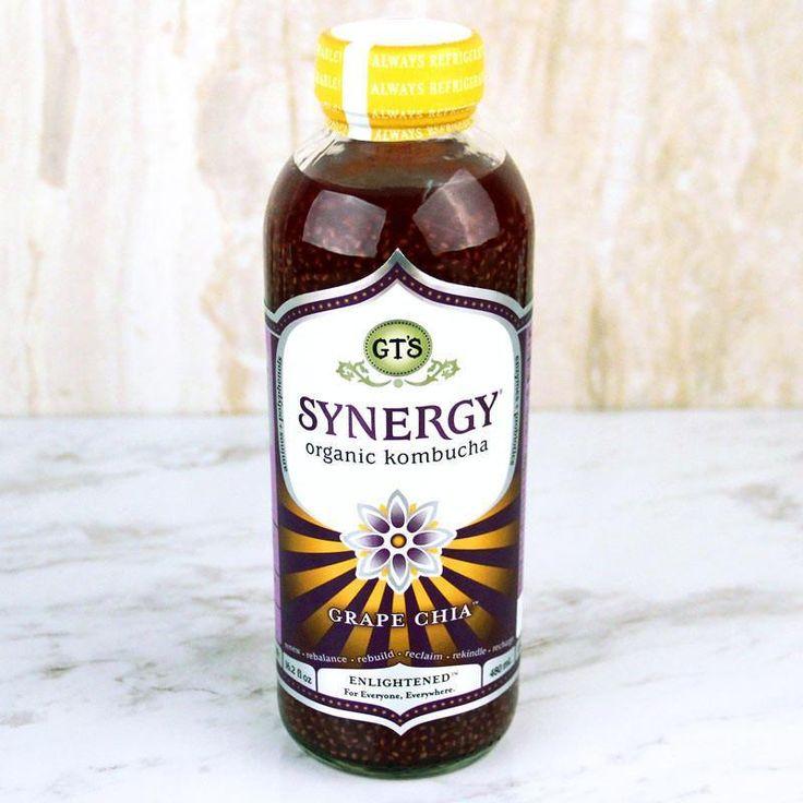 GT'S Synergy Kombucha Organic Grape Chia