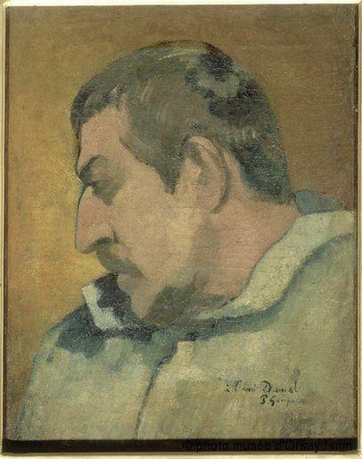 Paul Gauguin (France 1848-1903), Self-Portrait, oil on canvas, 1896. Collection Musée d'Orsay, Paris.